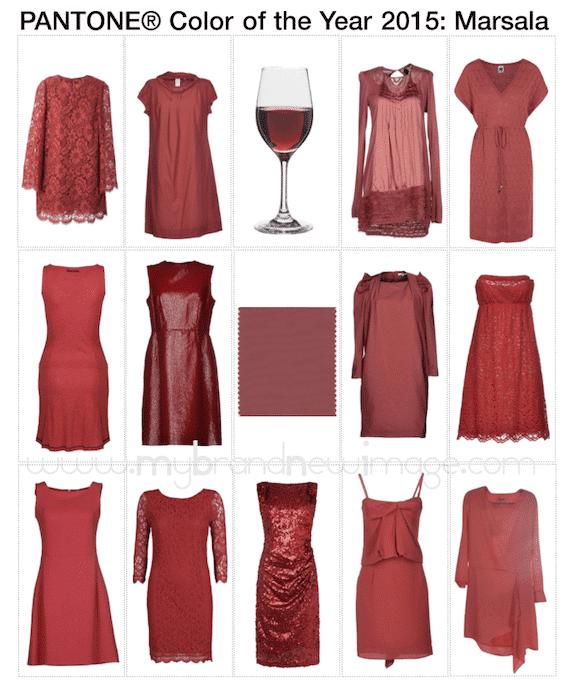 Marsala-Dresses