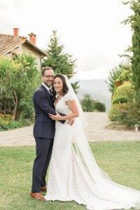american korean wedding at borgo corsignano in tuscany
