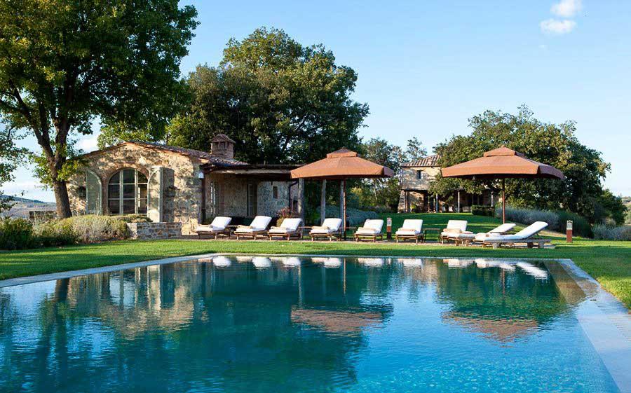 Villa Stabbi. Castiglion del Bosco.