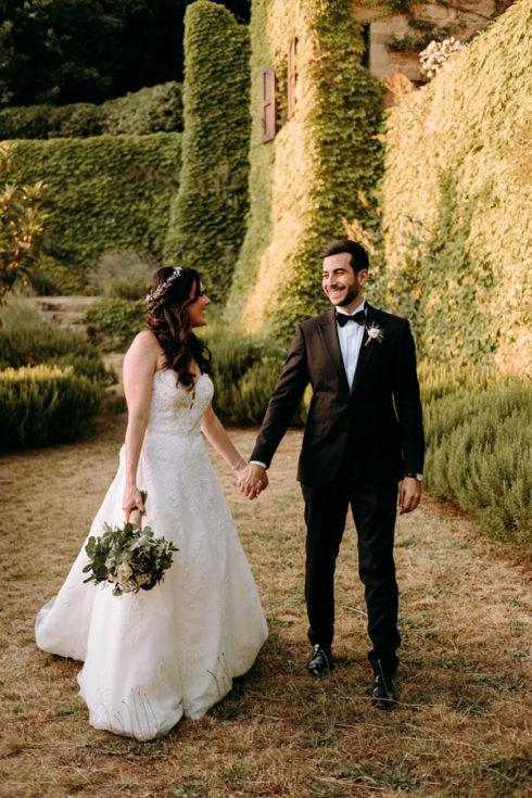 Mid summer destination wedding in Italy