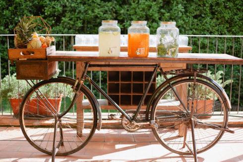 Organic destination wedding in a Tuscan Villa