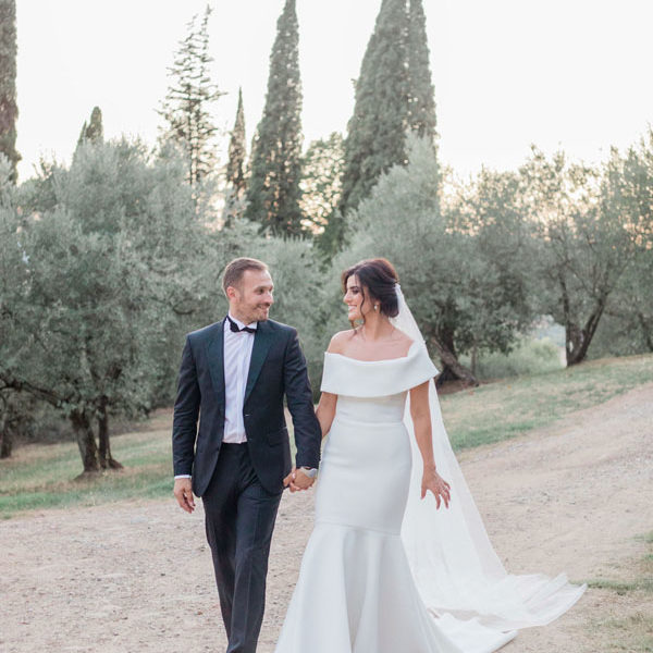 Dreamy inspirations for a pastel destination wedding in Italy