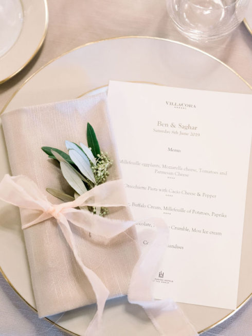Destination wedding inspired by the Duomo in Florence